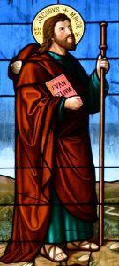 Jakobus der Ältere - Fenster in Tobel