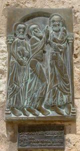 Christus als Pilger