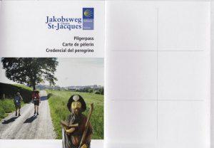Pilgerpass für den Jakobsweg