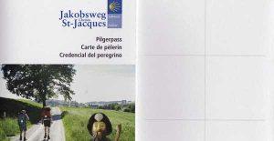 Bestellung Pilgerpass Jakobsweg vom Dachverband Jakobsweg CH