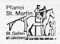 Pilgerstempel St.Martin Bruggen