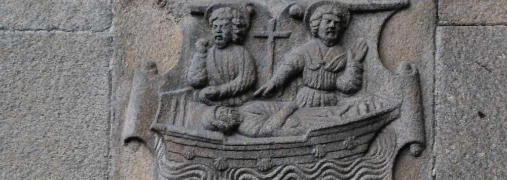 Ueberfahrt Jakobus - Geschichte des Jakobsweges