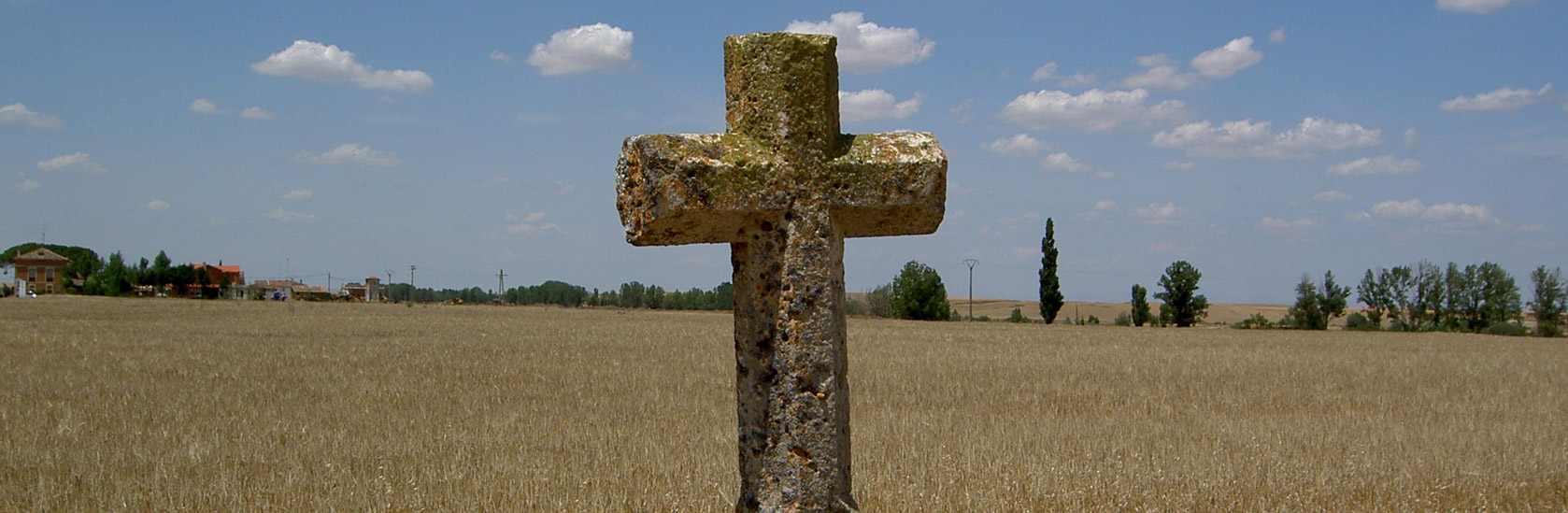 Kreuz in der Meseta