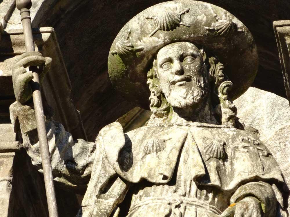 Jakobus über der hl. Pforte