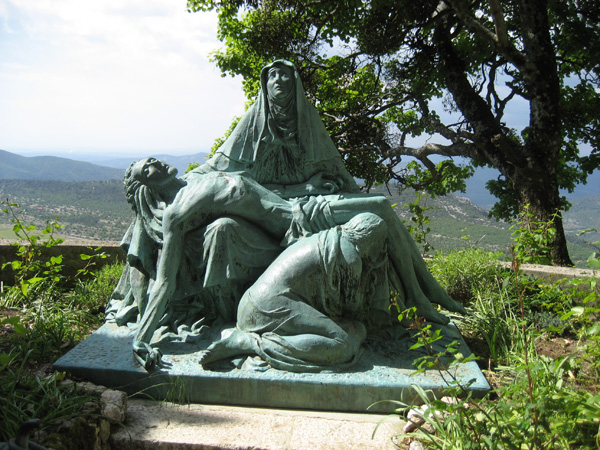 Maria Magdalena beim verstorbenen Jesus