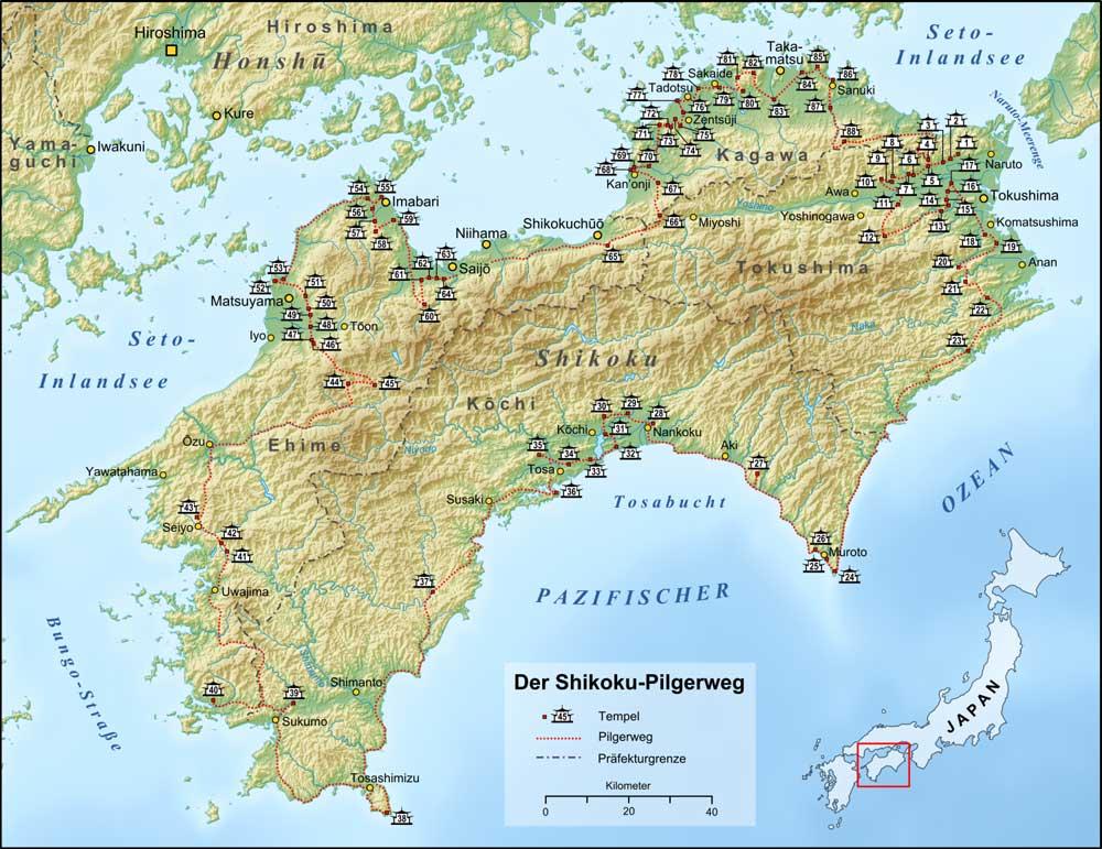 88 Tempel Pilgerweg Shikoku