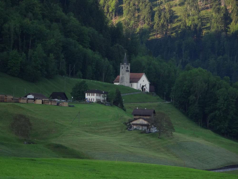 Jakobsweg Swiss Camino Flüeli-Ranf