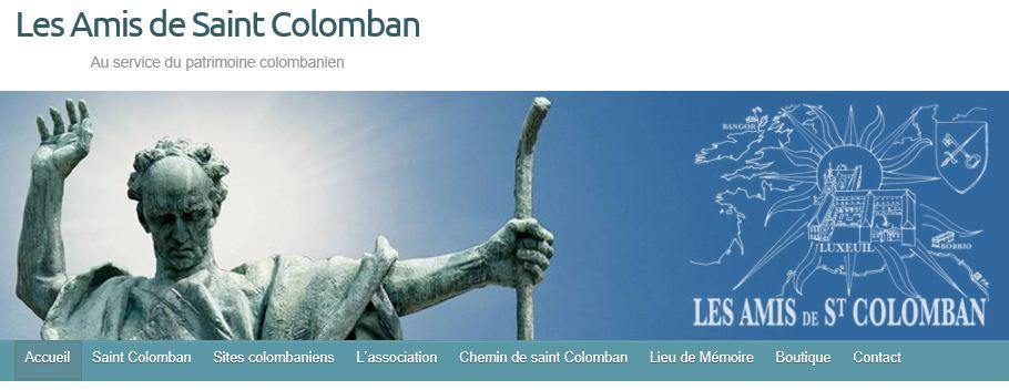 Webseite les Amis de Saint Colomban