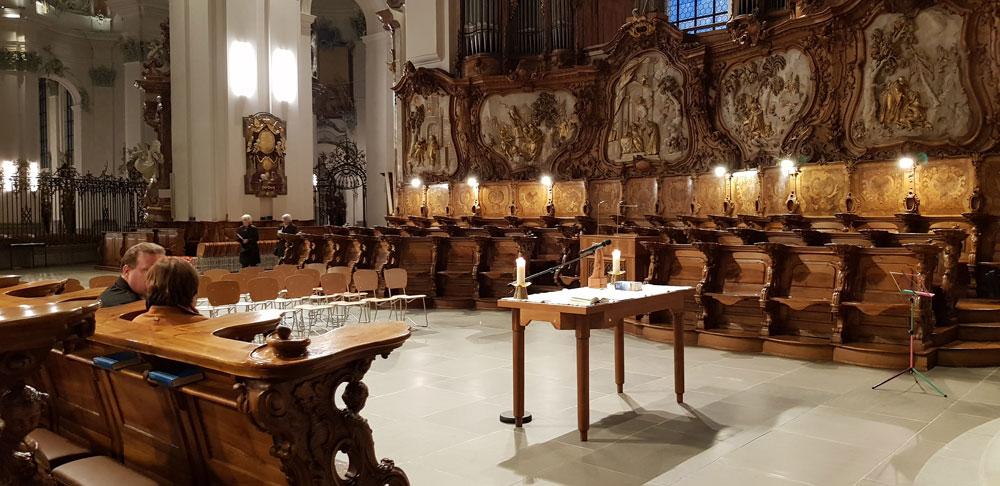 Dom St. Gallen Pilgergottesdienst