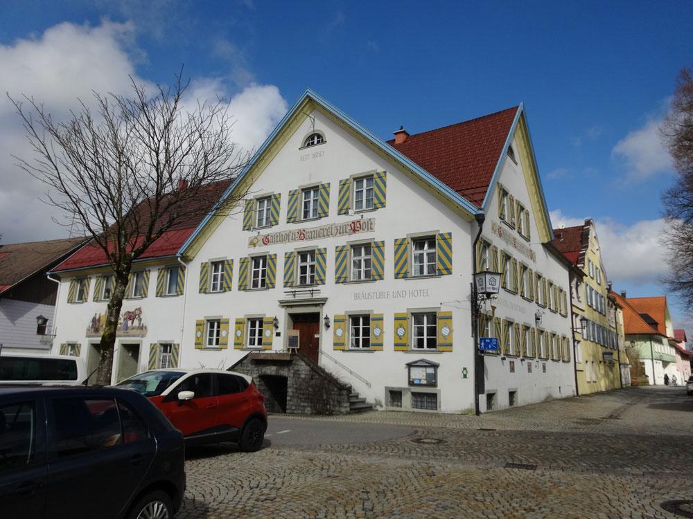 Gasthof am Münchner Jakobsweg