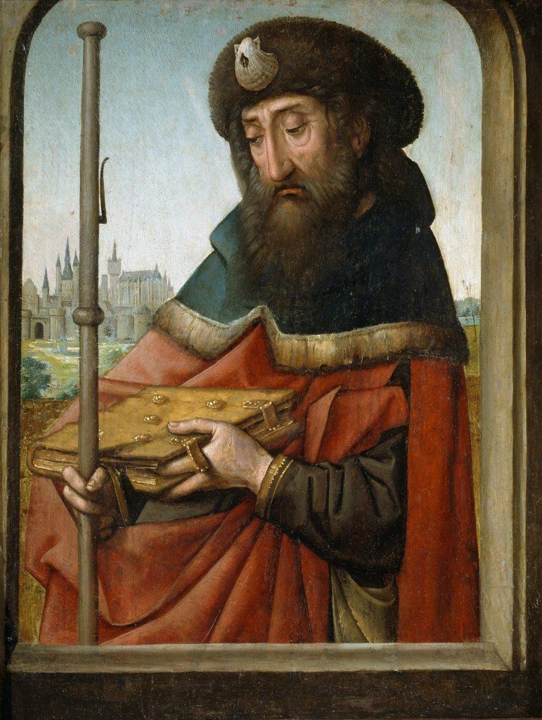 Jakobus als Apostel und Pilger