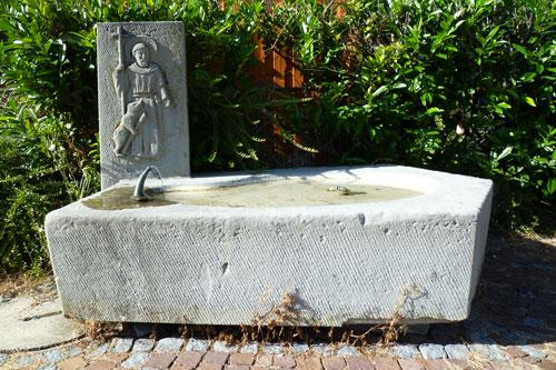 Gallusbrunnen Steinach