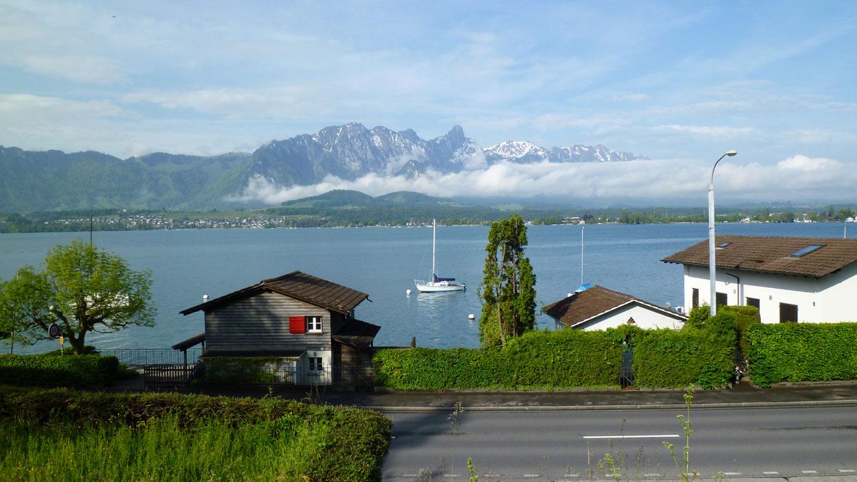Brienzersee Jakobsweg Schweiz