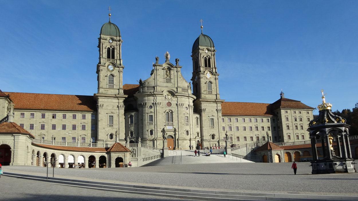 Kloster Einsiedeln Jakobsweg