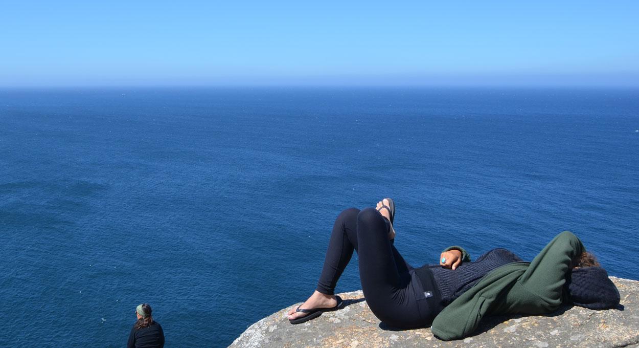 Am Cap Finisterre - dem Ende des Jakobsweges