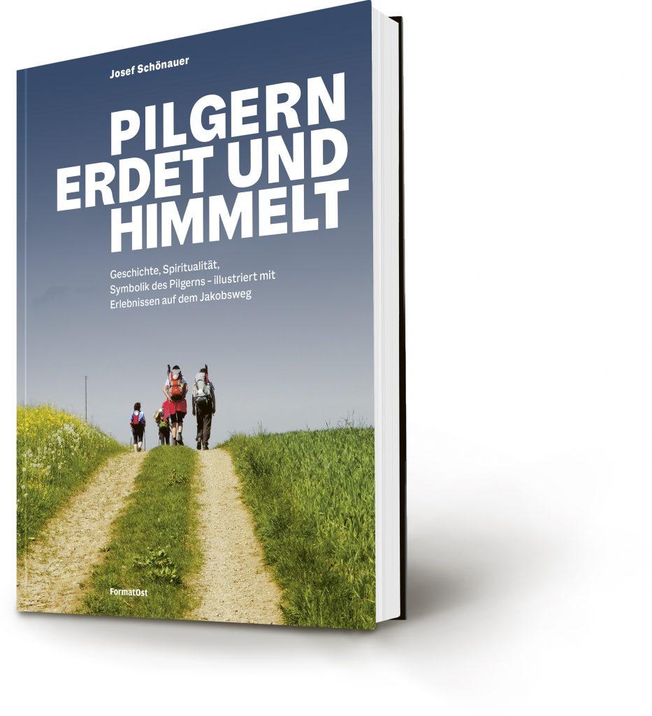 Buchcover: Pilgern erdet und himmelt