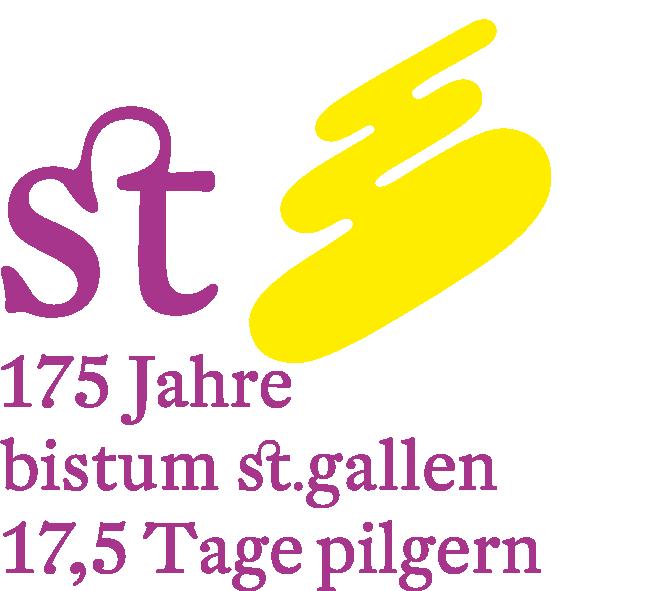 Logo Pilgern Bistum SG